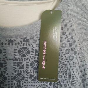 Mothers en Vogue Sweaters - Mothers en Vogue Side Zip Nursing Sweater Size XS